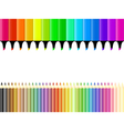 Crayons and markers vector image vector image