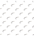 Flight of a baseball pattern cartoon style vector image vector image