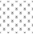 longhorn beetle grammoptera pattern vector image