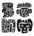 maya ornament vector image vector image