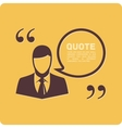 People with quote vector image vector image