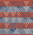 Retro cloth seamless pattern