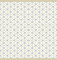 seamless geometric pattern in light colors vector image