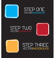 Steps vector image