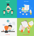 Element of HR recruitment process concept icon in vector image