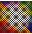 Bright multi-colored mosaic vector image