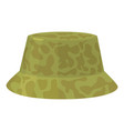 camp hat icon cartoon style vector image vector image