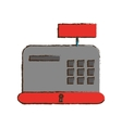 cash register icon image vector image