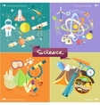 Chemistry physics biology vector image