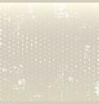 light gray grunge speckled background vector image vector image