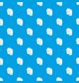 multi pocket jeans pattern seamless blue vector image