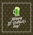 saint patric day design vector image vector image
