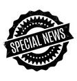 special news rubber stamp vector image vector image