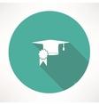 square academic cap icon