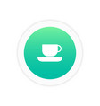cup icon sign vector image