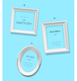 Set of empty picture frames for your own