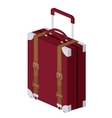 travel bag isolated icon design vector image