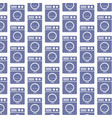 washing machine pattern background vector image