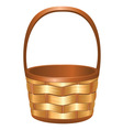 Wicker Basket3 vector image
