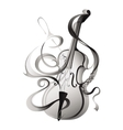 Abstract musical instrument vector image