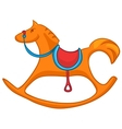 cartoon home toy horse vector image