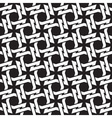 Chain mail of the links in form of four-point vector image vector image