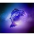 Native fish vector image vector image