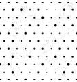 polka dot grunge pattern vector image vector image