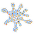 splash figure of certificate icons vector image