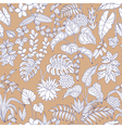 tropic pattern vector image vector image