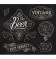 Vintage Elements for bar vector image vector image