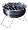 A barbeque grilling stove vector image vector image