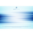 abstract blue horizontal lines motion blur vector image vector image