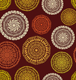 African ethnic seamless pattern vector image vector image