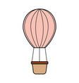 air ballon romantic decoration image vector image