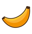 banana fruit eat fresh icon vector image vector image