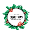 Merry Christmas background art vector image vector image