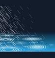rain pool vector image vector image