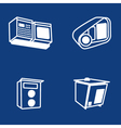 Scanners of car plates vector image vector image