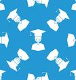 Seamless Graduation Celebration Educational vector image vector image