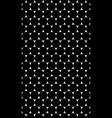 seamless texture with black and white pattern of vector image vector image