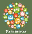 SocialM vector image vector image