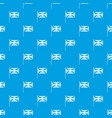 uk flag pattern seamless blue vector image vector image