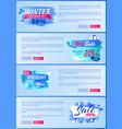 winter season best discount 30 off 2017 final sale vector image vector image