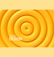 abstract background with yellow shapes vector image