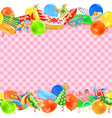 Celebration Border vector image