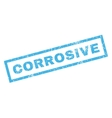 Corrosive Rubber Stamp vector image vector image