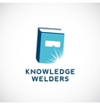 Knowledge Welders Education Abstract Sign vector image vector image