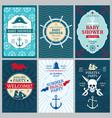 nautical bashower birthday beach party vector image