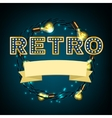 Rertro Banner image vector image vector image